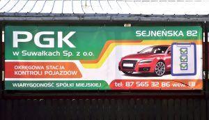 reklama na targowisku